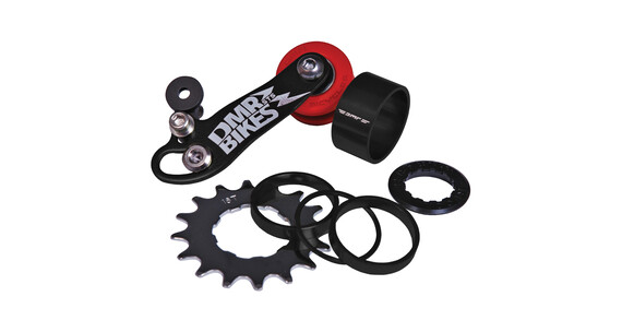 DMR Simple Tension Seeker 1-Speed Combo kettinggeleider zwart